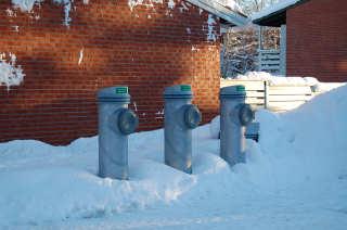 Søppelsug innføres nå i flere norske byer.