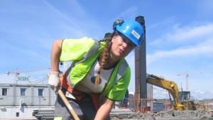 Arkeologen Hannah Marcussen fra Oslo har frontet MDG gjennom valgkampen med stor energi.