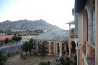 Utsikt fra rådhuset i Keren
