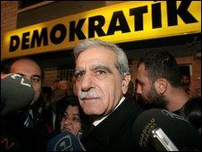 Den kurdiske lederen for DTP heter Ahmet Türk