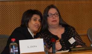 Leyla Zana og Kariane Westrheim