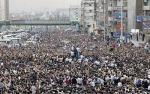Iranere protesterer mot regimet