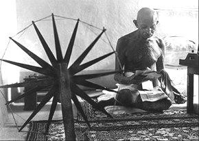 MK Gandhi har vært en viktig inspirator for miljøbevegelsen