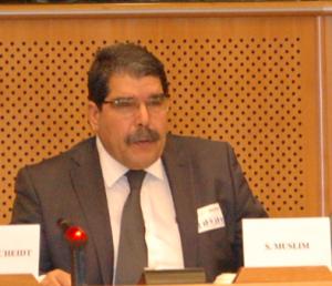 Saleh Muslim i Brüssel