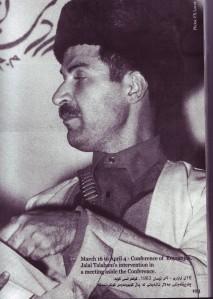 Denn unge Talbanai som opesh-merga soldat , forogrfaret av Francois-Xavier Lovat i 1963.