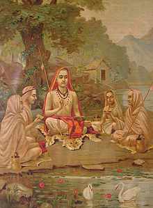 Shankara med elever