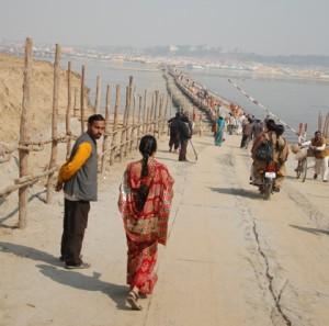 På vei til Sangam