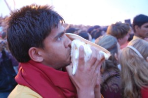 konkyliene lyder for Ma Ganga
