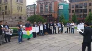 Støttedemo for Sayid Ekrem I Oslo
