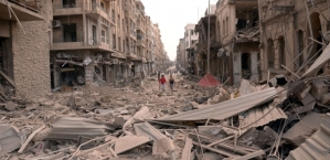 Arven etter Bashar Assads Baath-regime: Aleppo i ruiner.