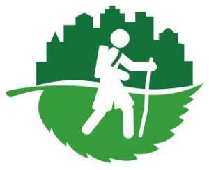 Det grønne pilegrims-nettverkets logo