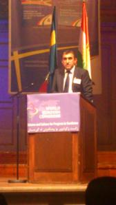 Dawood Atrushi, utdannet i Norge, fortale om universitetene i Kurdistan