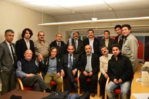 Participants at the Liberal Kurdish Congress in Oslo.
