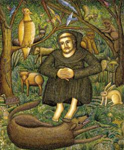 Den hellige Frans av Asissi