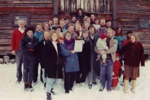 Miljøpartiet de Grønne  ble formelt stiftet på Rondetun Fjellstue i oktober 1988.
