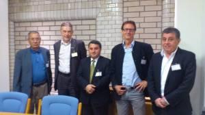 Representanter fra Rojava og fra  Miljøpartiet De Grønne møttes i Oslo juni 2014-