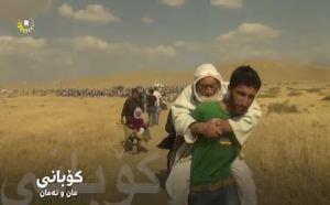 Titusener flykter for ISILs framrykking i Kobane