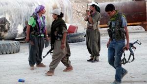 PKK-gerilja i Makhmour