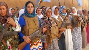 den kurdiske befolkningen står samlet mot ISILS angrep. NATO gir ingen hjelp