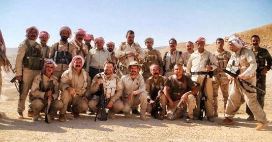 Yezidienes forsvarsstyrke i Shengal - HPS.