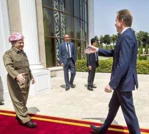 Børge Brende og mange andre anerkjenner fortsatt Massoud Barzani som president i Sør-kurdistan